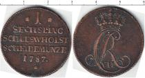 Каталог монет - монета  Шлезвиг-Хольштайн 1 сешлинг