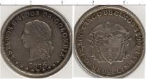 Каталог монет - монета  Колумбия 5 десим