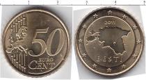 Каталог монет - монета  Эстония 50 евроцентов