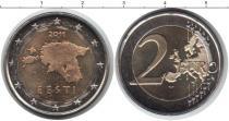 Каталог монет - монета  Эстония 2 евро