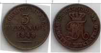 Каталог монет - монета  Ольденбург 3 пфеннига