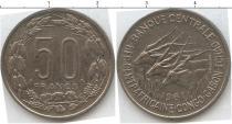 Каталог монет - монета  Чад 50 франков