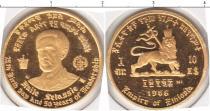 Каталог монет - монета  Эфиопия 10 долларов