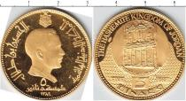 Каталог монет - монета  Иордания 5 динар