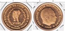 Каталог монет - монета  Кот-д`Ивуар 25 франков