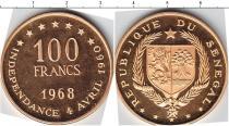 Каталог монет - монета  Сенегал 100 франков