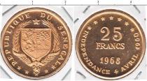Каталог монет - монета  Сенегал 25 франков