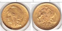 Каталог монет - монета  Чили 5 песо