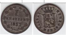 Каталог монет - монета  Нассау 1 крейцер