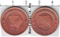 Каталог монет - монета  Босния и Герцеговина 20 фенигов