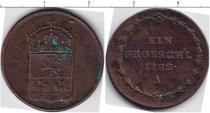 Каталог монет - монета  Венгрия 1 грош
