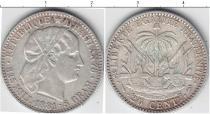 Каталог монет - монета  Гаити 20 центов