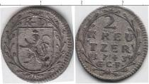 Каталог монет - монета  Нассау 2 крейцера