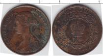 Каталог монет - монета  Нью-Брансуик 1 цент