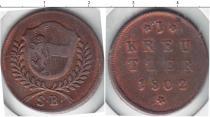 Каталог монет - монета  Зальцбург 1 крейцер