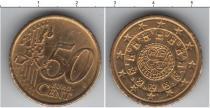 Каталог монет - монета  Португалия 50 евроцентов