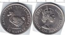 Каталог монет - монета  Маврикий 10 рупий