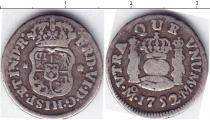 Каталог монет - монета  Перу 1/2 реала