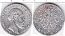 Каталог монет - монета  Мекленбург-Шверин 2 марки