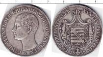 Продать Монеты Саксен-Веймар-Эйзенах 1 талер 1858 Серебро