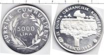 Каталог монет - монета  Турция 5000 лир