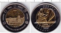 Каталог монет - монета  Монако 2 евро