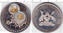 Каталог монет - монета  Уганда 1000 шиллингов