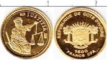 Каталог монет - монета  Кот-д`Ивуар 1500 франков