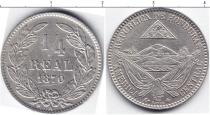 Каталог монет - монета  Гондурас 1/4 реала