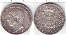 Каталог монет - монета  Шварцбург-Рудольфштадт 2 марки