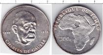 Каталог монет - монета  Чад 200 франков