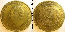 Каталог монет - монета  Сардиния 80 лир