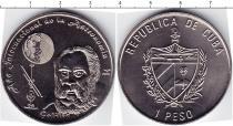 Продать Монеты Куба 1 песо 2009 Медно-никель