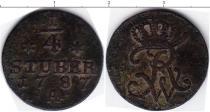 Каталог монет - монета  Фрисландия 1/4 штюбера