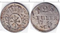 Каталог монет - монета  Пруссия 2 штюбера