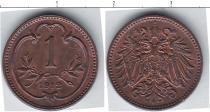 Каталог монет - монета  Австро-Венгрия 1 геллер