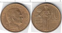 Каталог монет - монета  Монако 10 сантим