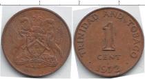 Каталог монет - монета  Тринидад и Тобаго 1 цент