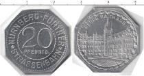 Продать Монеты Нюрнберг 20 пфеннигов 0 Алюминий