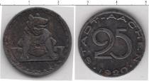 Каталог монет - монета  Ахен 25 пфеннигов