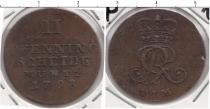 Каталог монет - монета  Брауншвайг-Люнебург-Каленберг-Ганновер 2 пфеннига