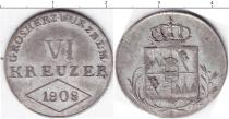 Каталог монет - монета  Вюрцбург 6 крейцеров