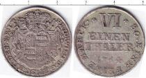 Каталог монет - монета  Хильдесхайм 1/6 талера