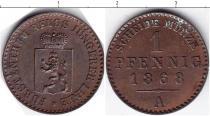 Каталог монет - монета  Рейсс-Шляйц 1 пфенниг