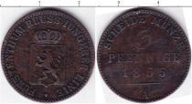 Каталог монет - монета  Рейсс-Шляйц 3 пфеннига