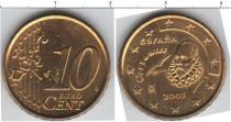 Каталог монет - монета  Испания 10 евроцентов