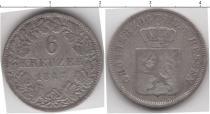 Каталог монет - монета  Гессен-Дармштадт 6 крейцеров
