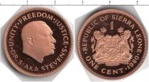Каталог монет - монета  Сьерра-Леоне 1 цент