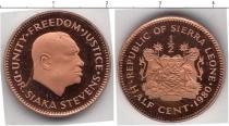 Каталог монет - монета  Сьерра-Леоне 1/2 цента