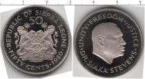 Каталог монет - монета  Сьерра-Леоне 50 центов